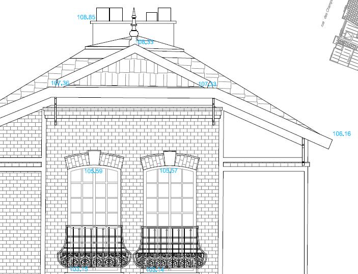 Elevation D Un Plan Archi : Plans d architecture